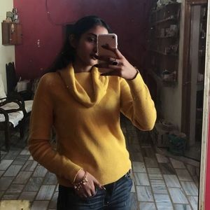 Yellow Comfy Sweater
